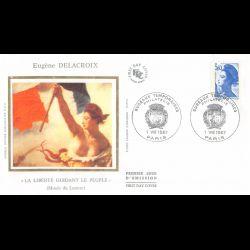 CEF soie - Aimé Césaire, poète antillais - oblit Fort de France 17/4/09