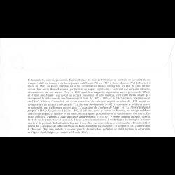 CEF soie - Coeur Emmanuel Ungaro - oblit 17/1/09